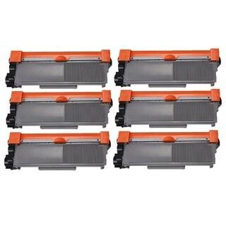 Brother TN550 TN580 Black Laser Toner Cartridge (Pack of 6)