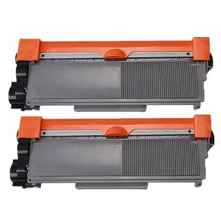 Brother TN620 TN650 Black Laser Toner Cartridge (Pack of 2)