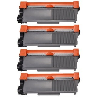 Brother TN620 TN650 Black Laser Toner Cartridge (Pack of 4)