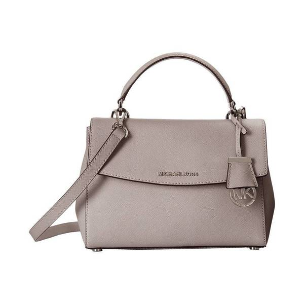 MICHAEL Michael Kors Ava Small Top Handle Satchel Pearl Grey