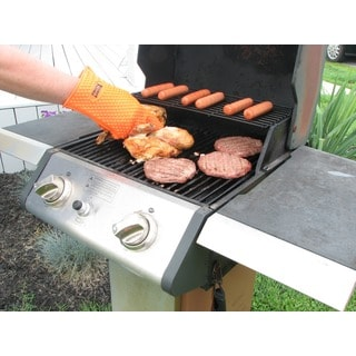 Smart Palms Medium Silicone Grilling/ Barbecue/ Oven Glove (Set of 2)