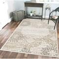 Plaza Mia Bone area rug (3'3 x 4'11)