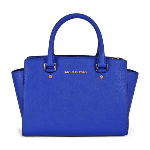 MICHAEL Michael Kors Selma Medium Satchel Electric Blue