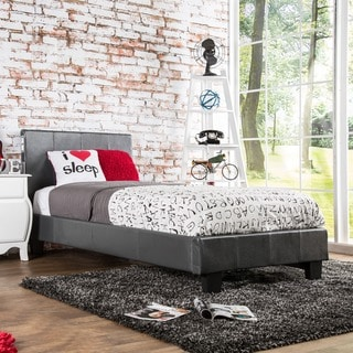 Furniture of America Britney Modern Twin-size Platform Bed with Bluetooth Speaker