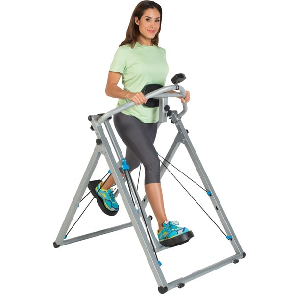 Progear Freedom 48-inch Stride Air Walker Elliptical LS1 with Heart Pulse Monitor
