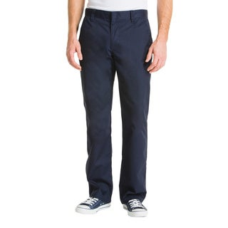 Lee Young Men's Navy Slim Straight Leg Pant