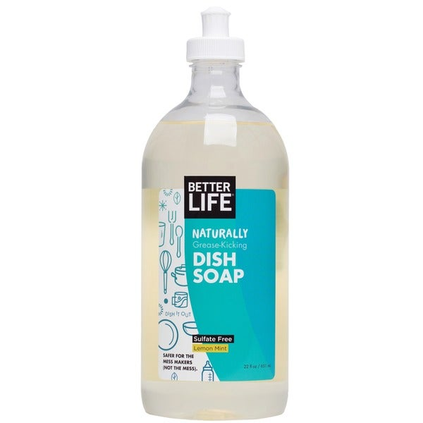 Better Life DISH IT OUT Clary Sage & Citrus Dish Liquid Soap (Pack of 2)