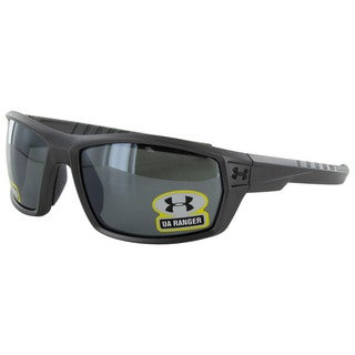 Under Armour Mens Ranger Polarized Wrap Sunglasses