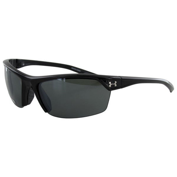 Under Armour Mens Zone 2.0 Polarized Sport Wrap Sunglasses