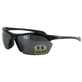 Under Armour Mens Zone XL Polarized Sport Wrap Sunglasses