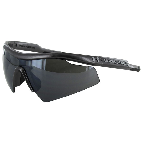 Under Armour Mens Scepter Sport Wrap Sunglasses