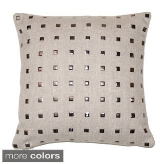 Lillian 16-inch Feather and Down Filled Throw Pillow
