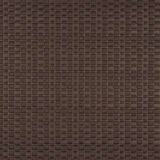 G688 Brown Metallic Thin Basket Woven Look Upholstery Faux Leather by the Yard