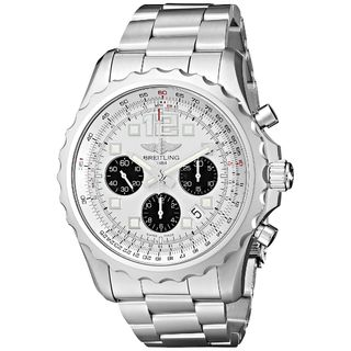 Breitling Men's A2336035-G718SS 'Chronospace' Automatic Chronograph Silver Stainless Steel Watch