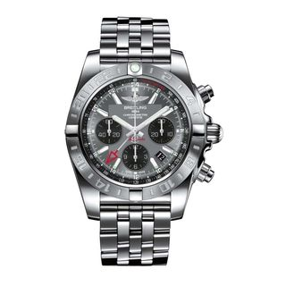 Breitling Men's AB042011-F561 'Chronomat' Automatic Chronograph Silver Stainless steel Watch