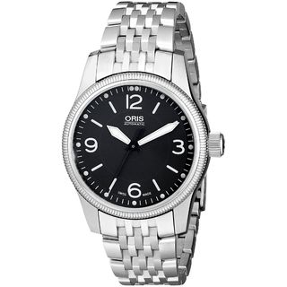 Oris Men's 73376494033MB 'Big Crown' Automatic Silver Stainless steel Watch