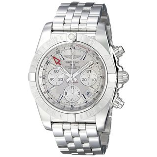 Breitling Men's AB042011-G745 'Chronomat' Automatic Chronograph Silver Stainless steel Watch