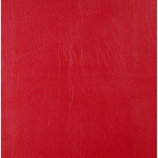 G726 Red Solid Weather Resistant Marine Upholstery Vinyl by the Yard