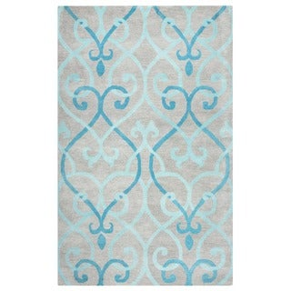 Hand-tufted Bradberry Downs Wool Accent Rug (9' x 12')