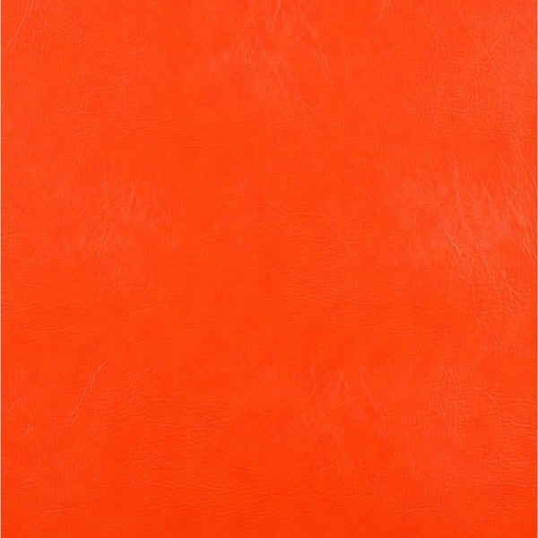 G753 Orange Solid Weather Resistant Marine Upholstery Vinyl by the Yard