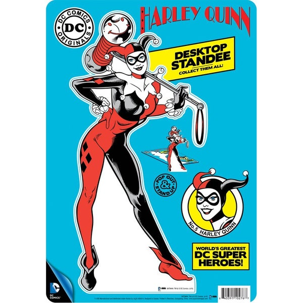 DC Comics Harley Quinn Desktop Standee Pop Out