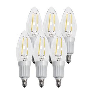 Artiva USA LED Filament 2700K Warm Light Fine Tip Bulb True 360-degree Beam Angle