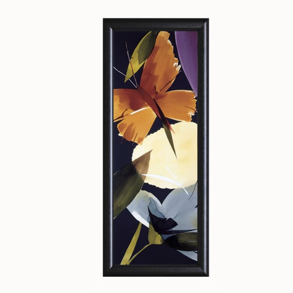 Lola Abellan-When The Wind Blows ll, 16 x 40 Framed Art Print