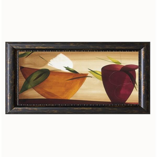 Lola Abellan-Flores Frescas ll, 28 x 16 Framed Art Print 15627331