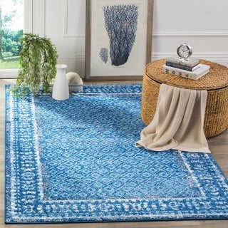 Safavieh Adirondack Light Blue/ Dark Blue Rug (8' x 10')
