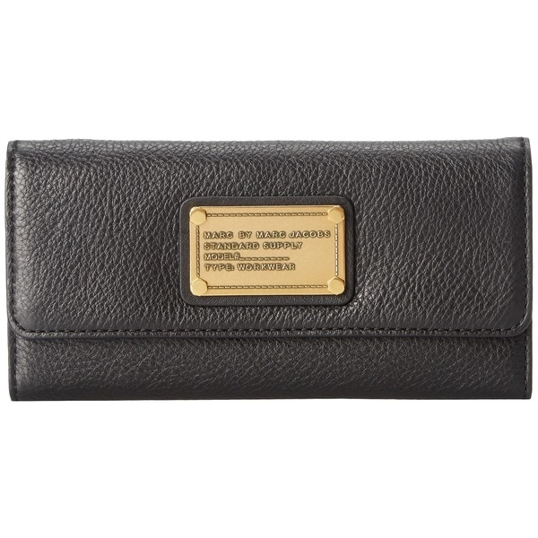 Marc by Marc Jacobs Classic Q Long Trifold - Wallet Handbags: Black
