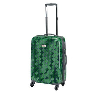 Happy Chic by Jonathan Adler Greek Key 21-inch Carry-on Hardside Suitcase