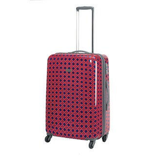 Happy Chic by Jonathan Adler Cain 25-inch Hardside Spinner Upright Suitcase