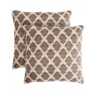 Slumber Shop Royal Decorative 18-inch Throw Pillows (Set of 2)