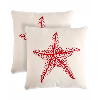 Slumber Shop Star Decorative 18-inch Throw Pillow (Set of 2)