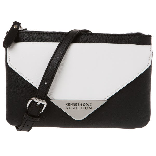 Kenneth Cole Pyramid Mini Saffiano Crossbody