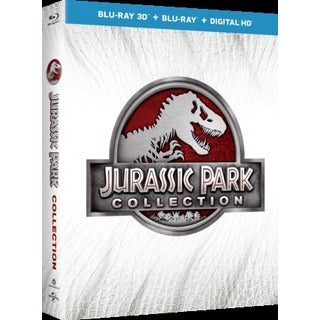Jurassic Park Collection 3D (Blu-ray Disc)