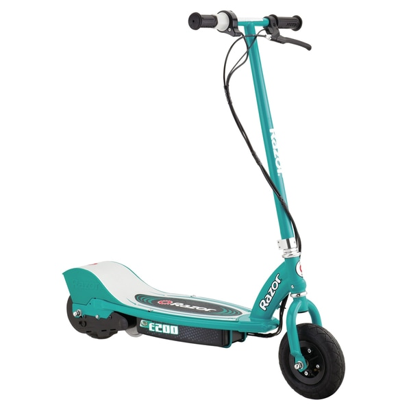 Razor Teal E200 Electric Scooter (As Is Item)