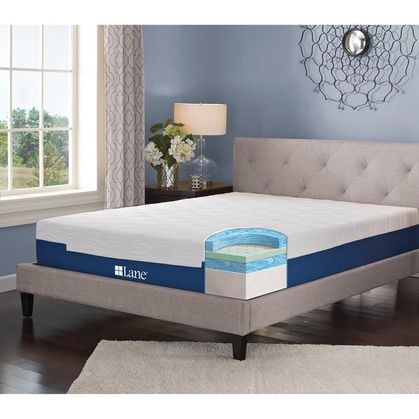 Sleep Sync by LANE 11-inch Queen-size Gel Memory Foam Mattress