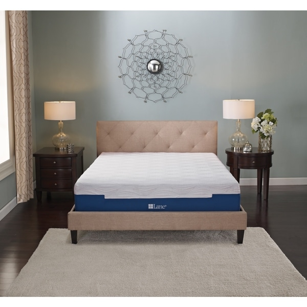Sleep Sync by LANE 11-inch California King-size Gel Memory Foam Mattress