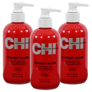 CHI Straight Guard 8.5-ounce Smoothing Cream (Pack of 3)