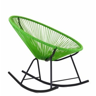 Acapulco Indoor/Outdoor Rocking Chair in Green