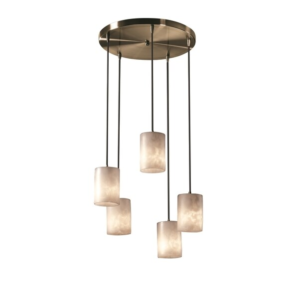 Justice Design Clouds 5-Light Cluster Pendant