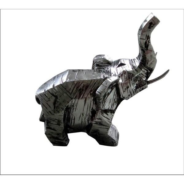 Africa Sculpture Silver