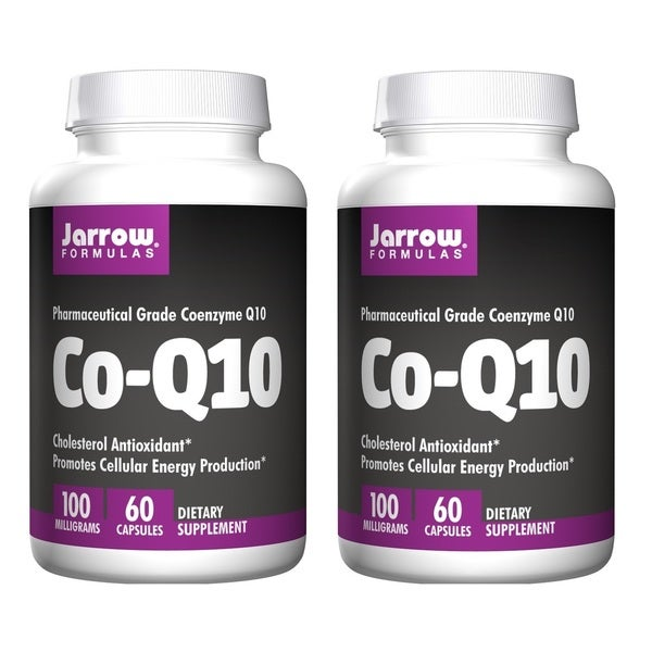 Jarrow Formulas Co-Q10 100 MG 60 Capsules (Pack of 2)
