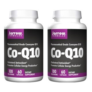 Jarrow Formulas Co-Q10 100 MG 60 Capsules (Pack of 2)