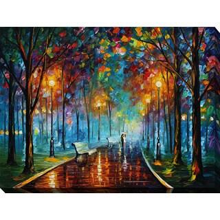 Leonid Afremov 'Misty Mood' Giclee Print Canvas Wall Art