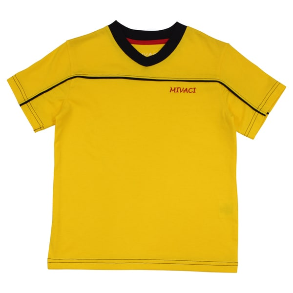 Boy'S Mivaci Yellow Short Sleeve T-Shirt