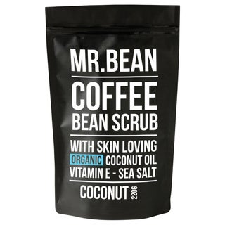 Mr. Bean Coffee Bean Skin Loving Organic Coconut Oil Scrub