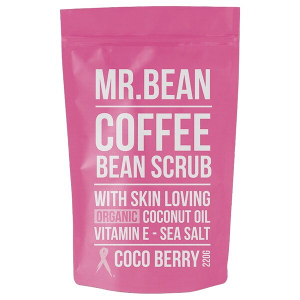 Mr. Bean Coffee Bean Coco Berry Organic Coconut Oil Scrub