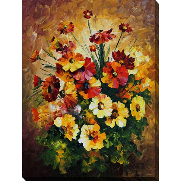 Leonid Afremov 'Songs Of My Heart' Giclee Print Canvas Wall Art